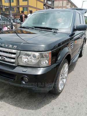 Land Rover Range Rover Sport 2008 4.2 V8 SC Black   Cars for sale in Lagos State, Ogba