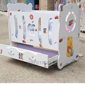 Wooden Baby Crib Cot | Children's Furniture for sale in Lagos State, Ojodu