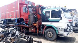 Scania Truck 10 Tons Hiab 10 Tyers Tokunbo   Trucks & Trailers for sale in Lagos State, Apapa