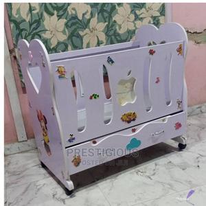 Wooden Baby Crib Cot | Children's Furniture for sale in Lagos State, Lekki
