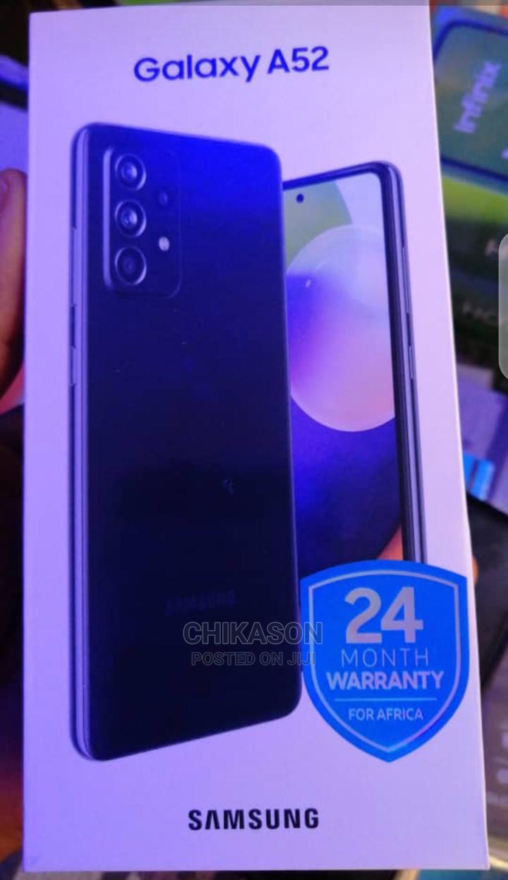 Archive: New Samsung Galaxy A52 128 GB Black