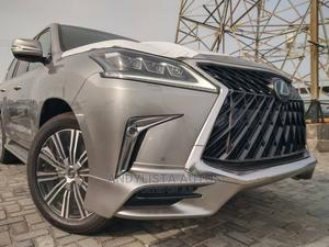 Lexus LX 2020 570 Three-Row Gold | Cars for sale in Lagos State, Lekki