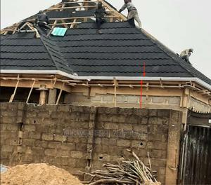 Gerald Roofing Sheets Stones Cont With Pvc Gutter   Building Materials for sale in Lagos State, Ilupeju