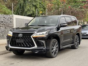 Lexus LX 2017 570 Base Black | Cars for sale in Abuja (FCT) State, Asokoro