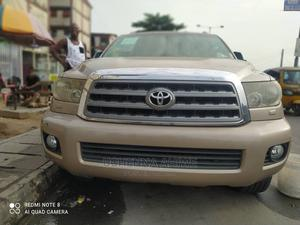 Toyota Sequoia 2008 Gold | Cars for sale in Lagos State, Surulere