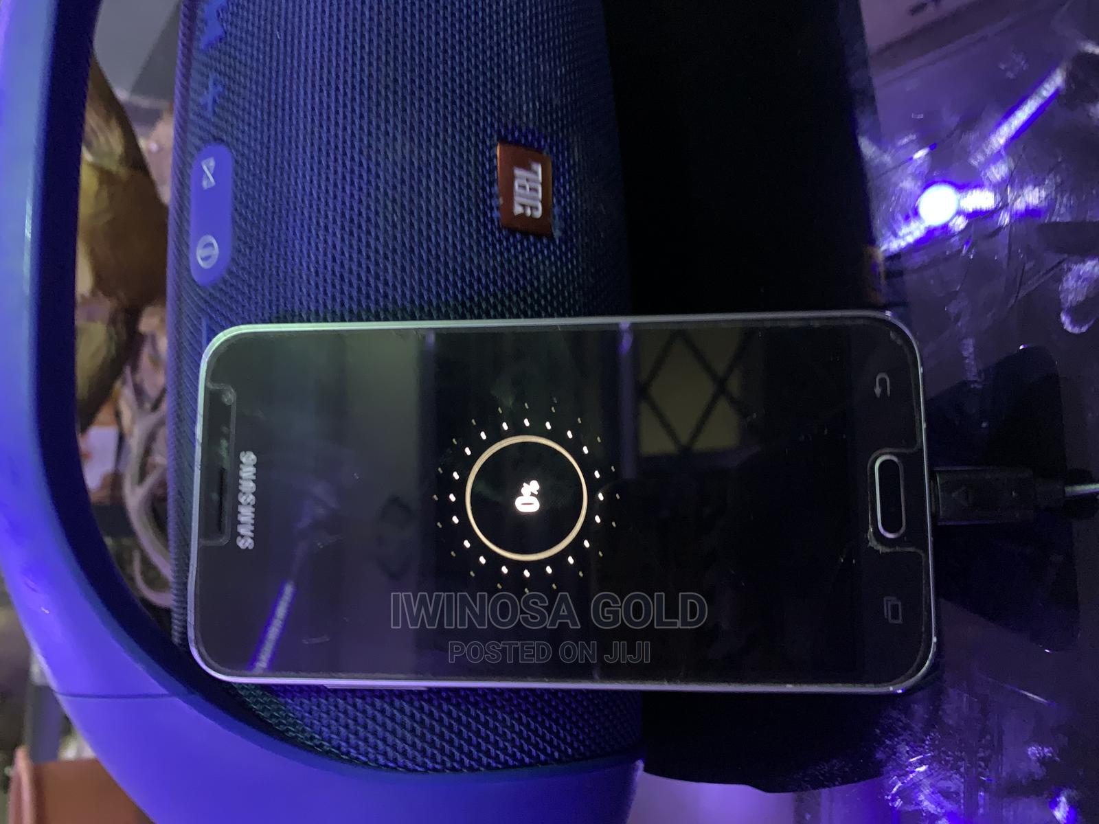 Samsung Galaxy J3 16 GB Black   Mobile Phones for sale in Benin City, Edo State, Nigeria