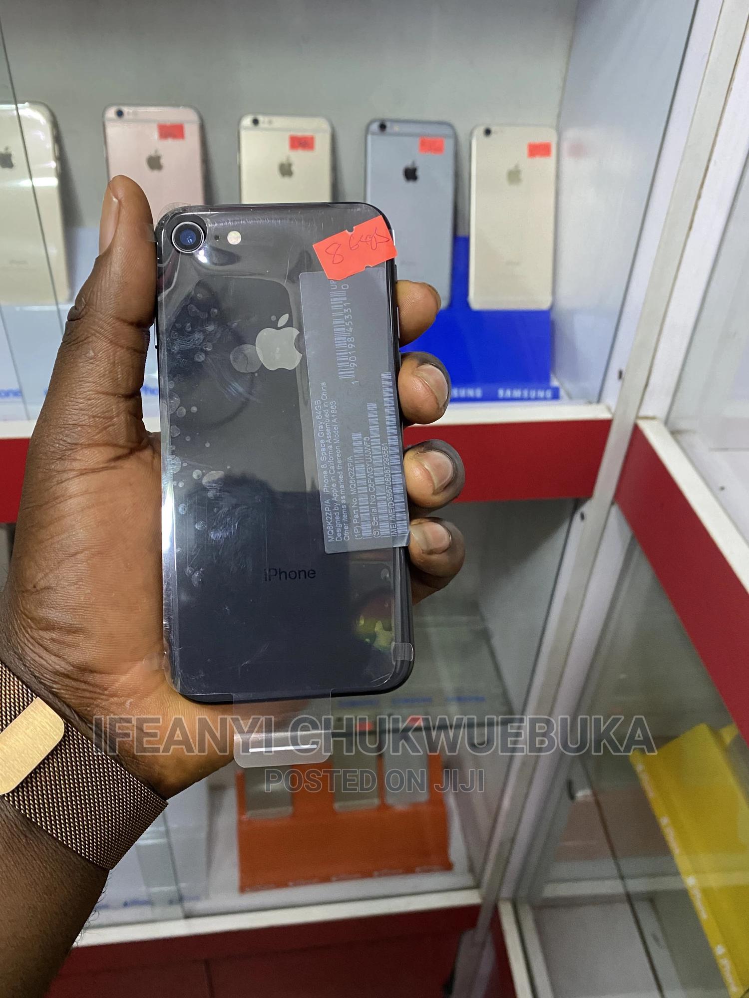 Apple iPhone 8 64 GB Black | Mobile Phones for sale in Ikeja, Lagos State, Nigeria