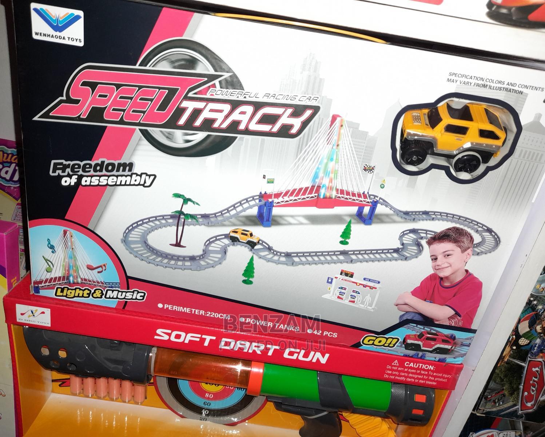 Speed Track Train Toy