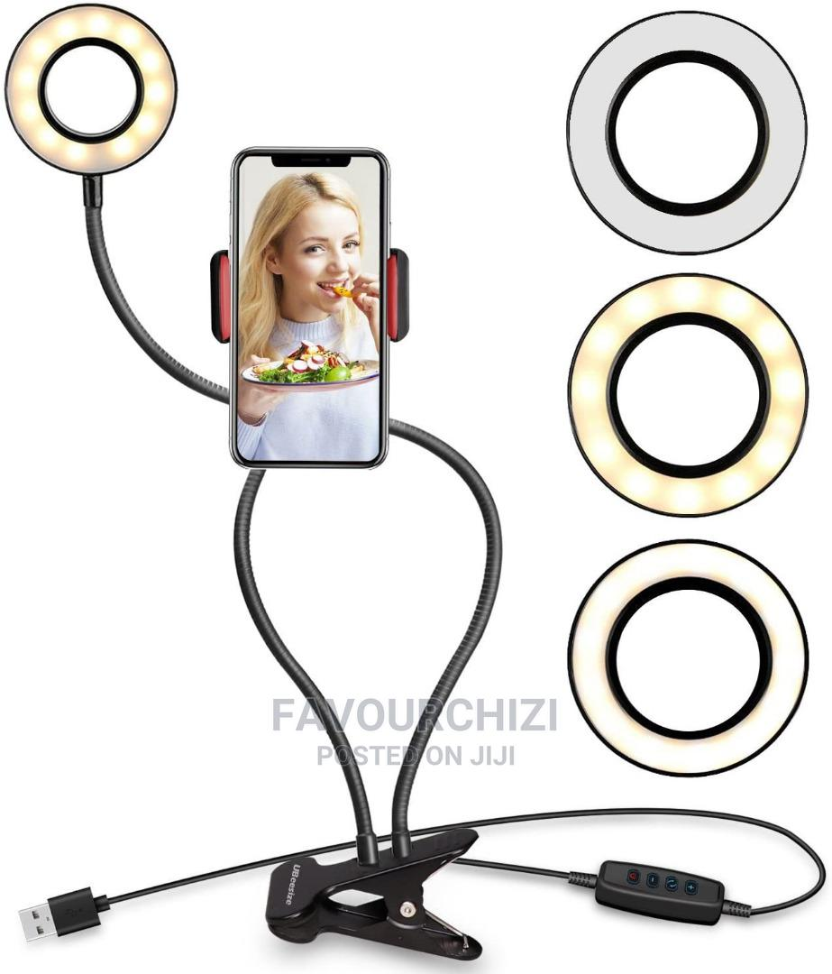 Archive: Selfie Ring Light With Phone Holder