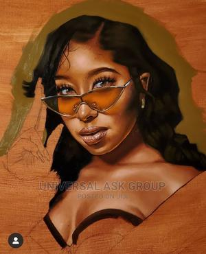 Portrait Painting Oil on Canvas/ Art Work | Arts & Crafts for sale in Lagos State, Lekki
