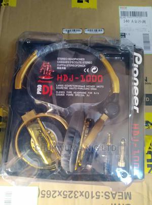Pioneer Pro Dj Hdj1000 Stereo Headset | Headphones for sale in Lagos State, Ojo