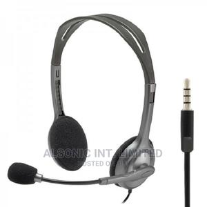 Logitech H110 Stereo Headset | Headphones for sale in Abuja (FCT) State, Wuse