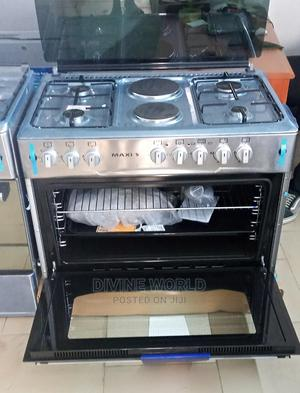 Maxi 4gas 2electric Standing Gas Cooker With Oven Automatic   Kitchen Appliances for sale in Lagos State, Ojo