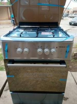 Maxi 60 by 60 Gas Electric (3+1) Oven Automatic Ignition | Kitchen Appliances for sale in Lagos State, Lagos Island (Eko)