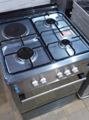 Maxi 60cm Gas Electric (3+1) Oven Automatic Ignition | Kitchen Appliances for sale in Lagos State, Ojo