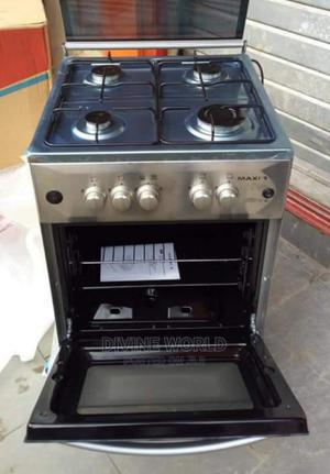 Quality Maxi 4 Burners Standing Gas Cooker With Oven 50cm   Kitchen Appliances for sale in Lagos State, Ikeja
