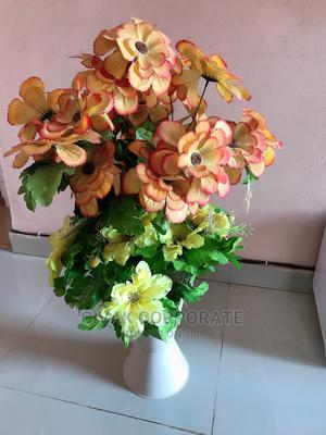 Flower Pot And Flower For Sell   Home Accessories for sale in Lagos State, Ikorodu