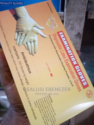 Examination Powdered Gloves | Medical Supplies & Equipment for sale in Ondo State, Akure