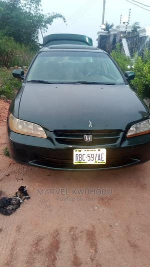 Honda Accord 2000 Coupe Green   Cars for sale in Delta State, Ika South