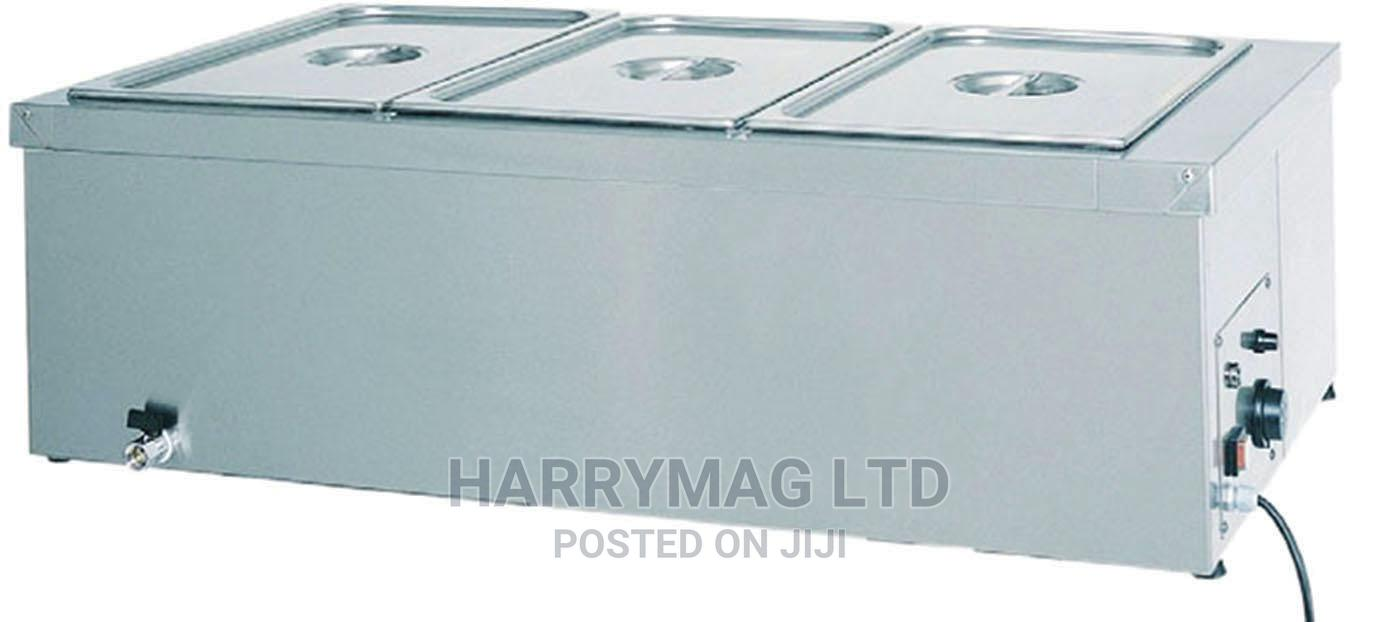 Archive: Industrial Bain Marie Table Top (Made In Italy)