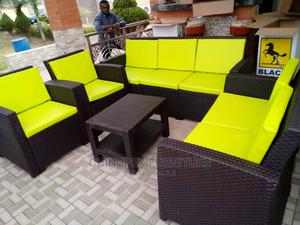 7seater Sofa Cane Chair | Furniture for sale in Lagos State, Ojo