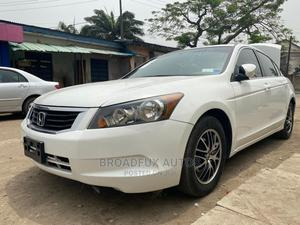 Honda Accord 2009 LX 2.4 Automatic White   Cars for sale in Lagos State, Ikeja