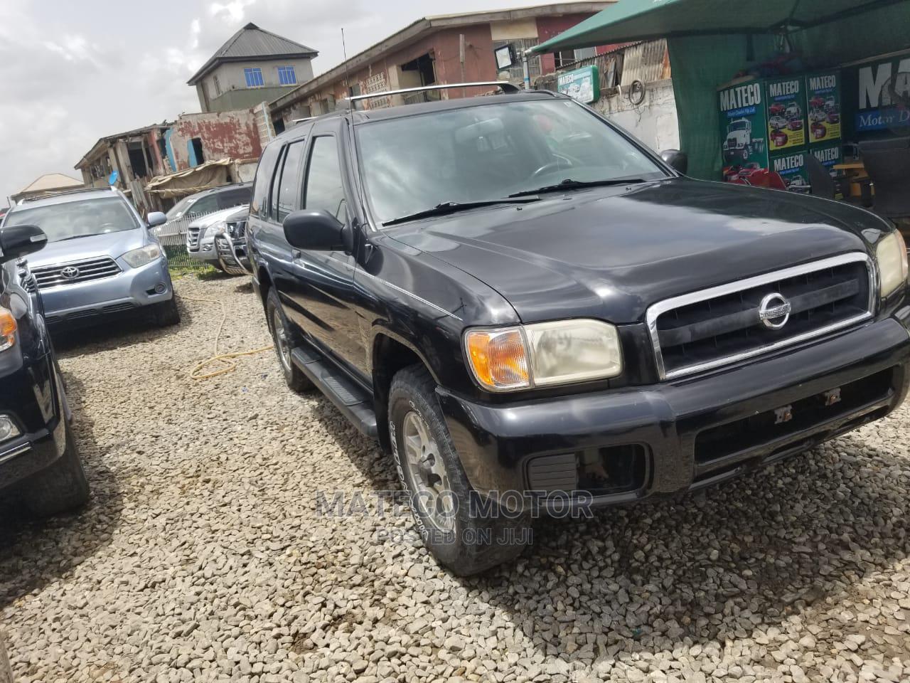 Nissan Pathfinder 2003 SE AWD SUV (3.5L 6cyl 4A) Black   Cars for sale in Amuwo-Odofin, Lagos State, Nigeria