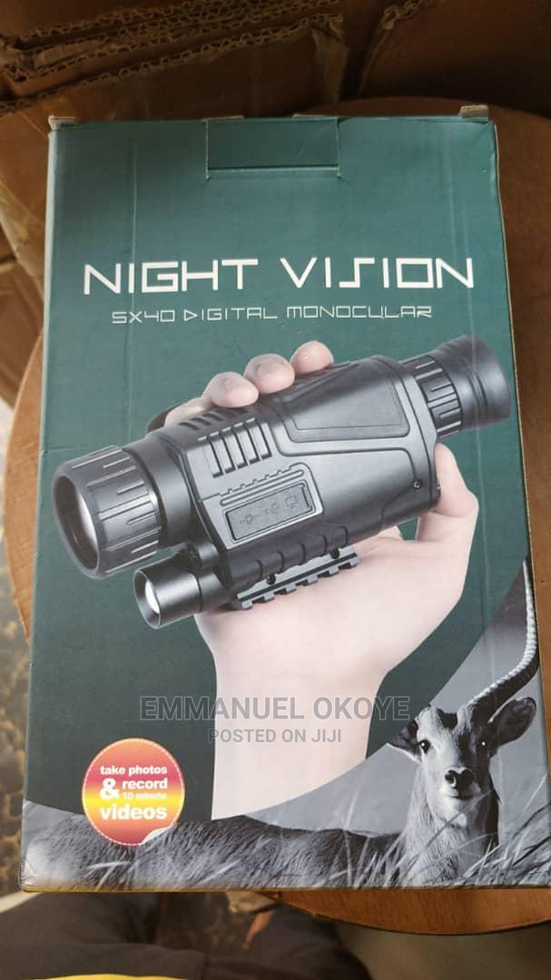 5 X 40 Day And Night Vision Binocular Powerful Heavy Duty | Camping Gear for sale in Ikeja, Lagos State, Nigeria