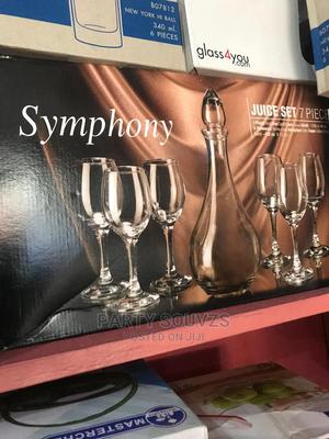 7 Piece Symphony Set With Wine Glasses | Kitchen & Dining for sale in Lagos State, Ikeja
