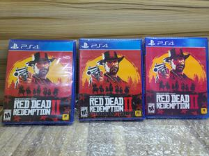Brand New Sealed - Ps4 Red Dead Redemption II | Video Games for sale in Lagos State, Agege