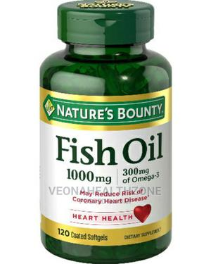Nature's Bounty Fish Oil 1000mg Omega-3 | Vitamins & Supplements for sale in Lagos State, Ikoyi