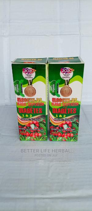 Elcocyn _ Ds Herbal Suspension for Diabetes 1 2 . | Vitamins & Supplements for sale in Lagos State, Amuwo-Odofin