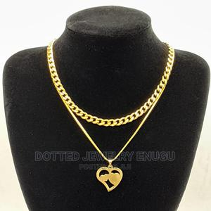 Gorgeous Cuban With Steel Chain and Pendant | Jewelry for sale in Enugu State, Enugu