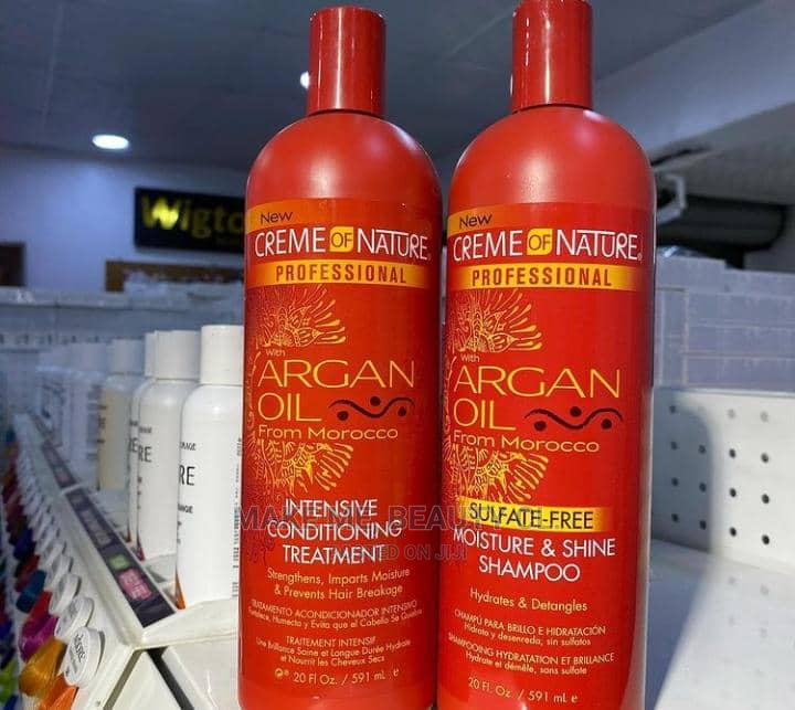 Creme of Nature Argan Oil Shampoo + Intensive Treatment