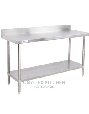 Stainless Steel 4 Feet Working Table   Restaurant & Catering Equipment for sale in Lagos State, Ojo