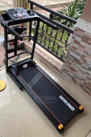 Treadmill With Massager and Dumbell | Sports Equipment for sale in Lagos State, Surulere