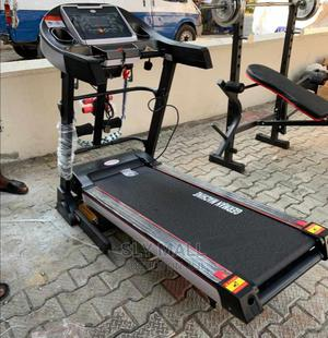 German Treadmill With Massager and Dumbell | Sports Equipment for sale in Lagos State, Surulere