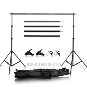 Adjustable Photography Backdrop Stand | Stage Lighting & Effects for sale in Lagos State, Ikeja