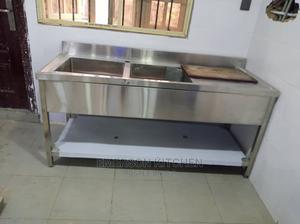 Double Bowl Sink With Side   Plumbing & Water Supply for sale in Lagos State, Ojo