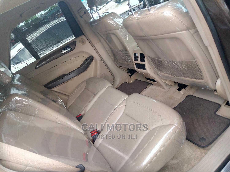 Archive: Mercedes-Benz M Class 2015 Brown
