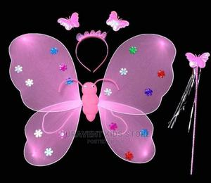 Kids Angels Light Wings With Crown and Wind | Babies & Kids Accessories for sale in Lagos State, Amuwo-Odofin