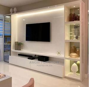Quality Tv Stand With Shelf | Furniture for sale in Lagos State, Ikeja