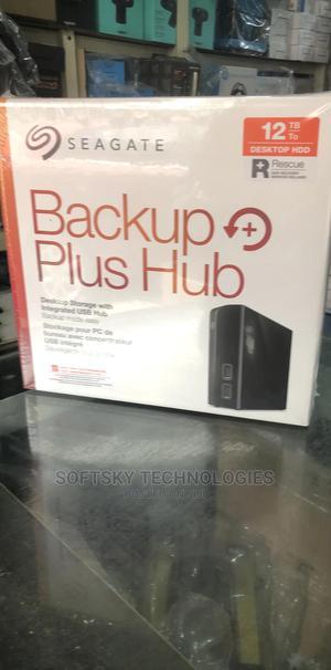 Seagate Backup PLUS Hub 12tb External Hard Drive | Computer Hardware for sale in Lagos State, Ikeja