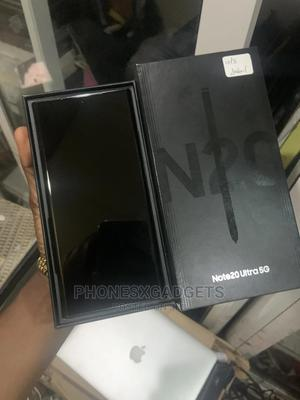 Samsung Galaxy Note 20 Ultra 5G 512GB Black   Mobile Phones for sale in Lagos State, Ikeja