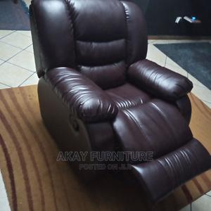 Coffee Brown Recliner Single Sofa | Furniture for sale in Lagos State, Ikeja