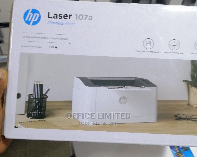 Hp Laserjet 107a Black and White Printer
