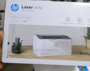 Hp Laserjet 107a Black and White Printer | Printers & Scanners for sale in Lagos State, Ikeja