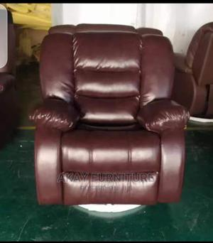 Light Brown Recliner Single Sofa | Furniture for sale in Lagos State, Lekki