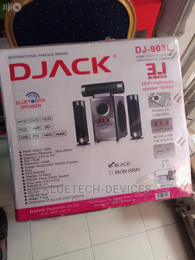 Djack 3.1 Sub Woofer Bluetooth Home Theatre System - DJ-903L   Audio & Music Equipment for sale in Ikeja, Lagos State, Nigeria