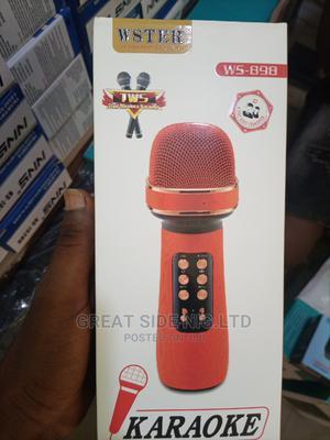 Microphone (Ws -898)Bluetooth Speaker   Audio & Music Equipment for sale in Lagos State, Ikorodu